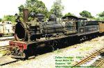 Locomotiva 327 em Guapimirim antes de ser transferida para Cruzeiro