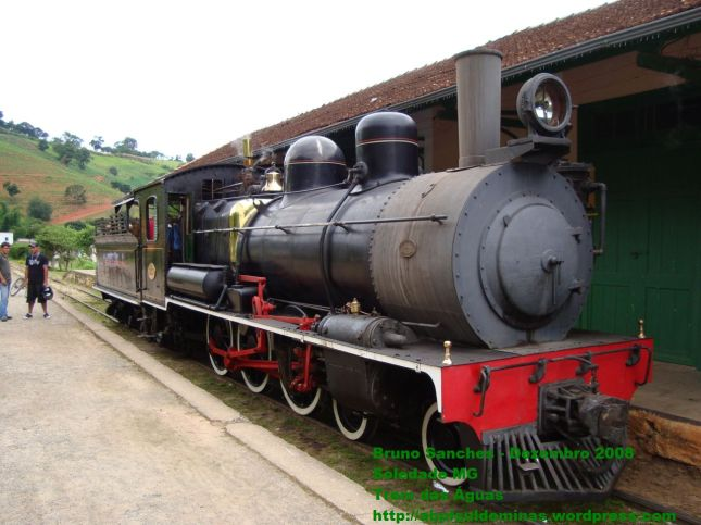 Locomotiva 327 em Soledade MG