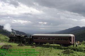 Trem da Serra da Mantiqueira, viagem de testes no Túnel Grande
