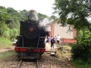 Trem na Estação Manacá