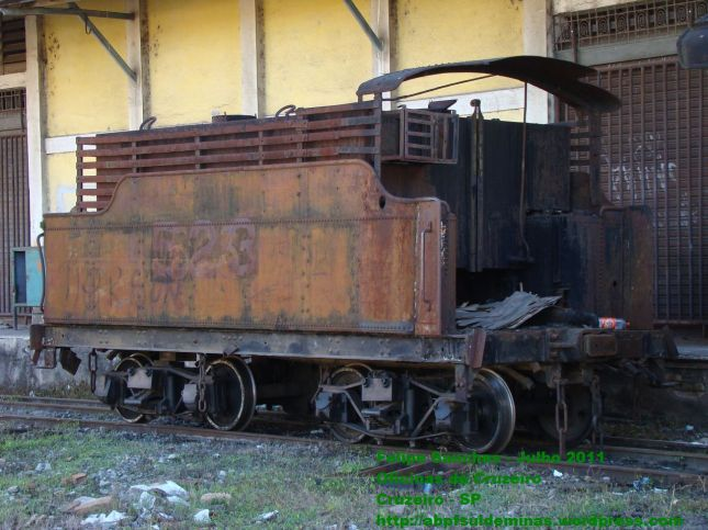 Tender da Locomotiva 522