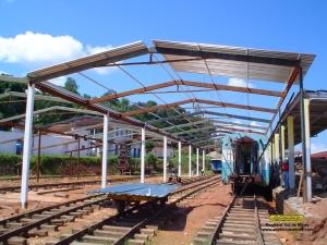 Instalação do telhado