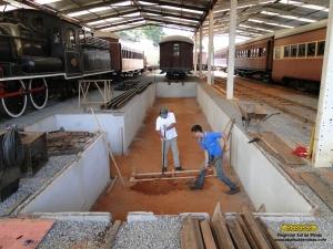 Inicio da escavação das fundações