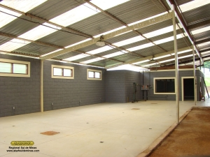 Local para instalação do maquinário de marcenaria