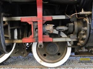 Desconectando as braçagens dos cilindros