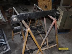 Conforme vão sendo finalizadas, as peças vão sendo estocadas para aguardarem a montagem final