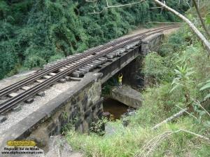Aspecto da Ponte Estrela antes do inicio dos trabalhos