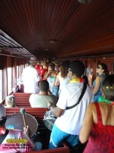 Foliões na viagem especial, Carnaval de 2012