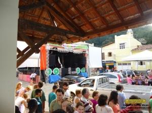 Abertura do carnaval, em frente a estação de Passa Quatro