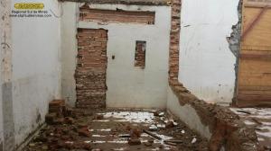 Início da construção do novo banheiro masculino; mesmo caso do feminino: o antigo banheiro, além de não oferecer condições higiênicas adequadas, não conseguia atender a demanda existente