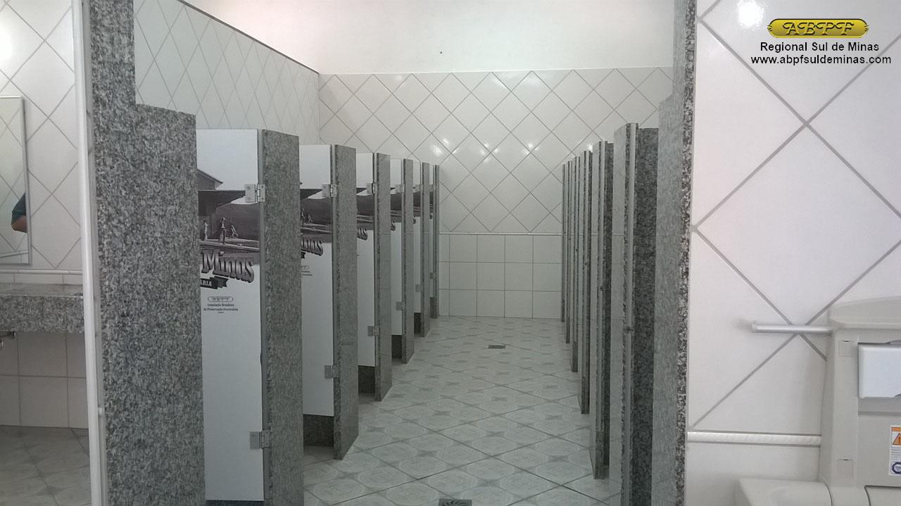 janeiro  2016  ABPF  Regional Sul de Minas -> Banheiro Feminino Higiene