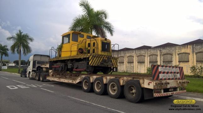 """A """"Joana"""" chegando em Cruzeiro na tarde de 08/03/2016"""