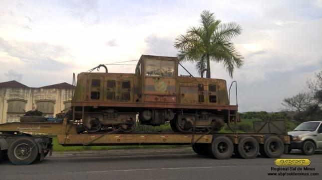"""A """"Rebeca"""" chegando em Cruzeiro na tarde de 08/03/2016"""