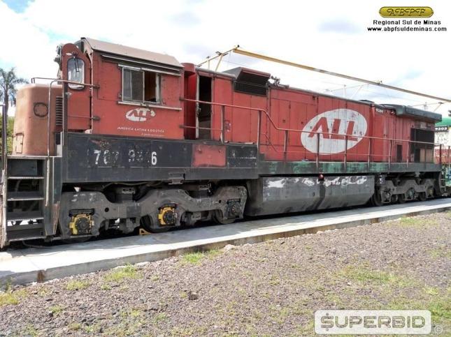 A 9380 em 2019, já recolhida e colocada à venda em foto do site oficial do leiloeiro. Foto: SUPERBID.
